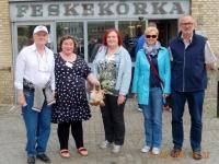 2016 05 13 Göteborg Reiseleiterteam in dieser Woche