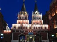 Eingang zum Roten Platz
