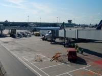 Landung in Moskau Sheremetyevo