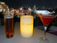 Moskau O2_Lounge im Hotel Ritz Carlton