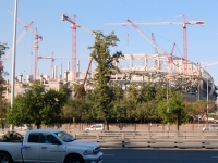 Neubau Fussballstadion