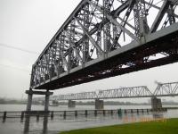 Transsib Brücke über den Ob