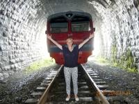 Zugstopp in Kirkirey