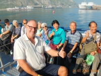 2016 07 24 Fahrt über den Baikalsee mit Chinesen