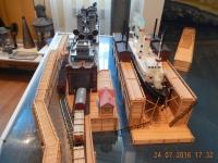 Kleines Transsib Museum in der Haltestelle