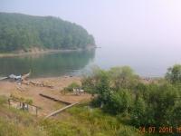 Fahrt entlang des Baikalsee