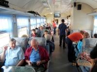 Touristenzug zum Baikalsee