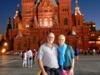 2016 07 17 Moskau Roter Platz bei Nacht
