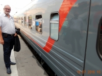 2016 07 18 Moskau Abfahrt am Bahnhof Kasan