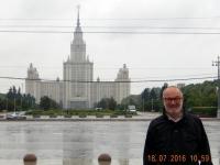 2016 07 18 Moskau Lomonossow Uni auf dem Sperlingsberg