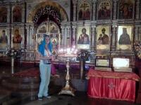 2016 07 20 Jekaterinburg Blutkirche wo die Zarenfamilie ermordet wurde