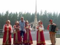2016 07 20 Jekaterinburg Folklore bei der Grenze Europa Asien
