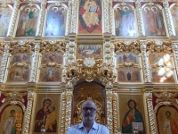 2016 07 23 Irkutsk Erlöserkirche imposanter Altar