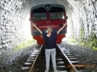 2016 07 24 Baikalseefahrt Zugstopp in Kirkirey