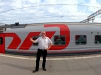 2016 07 18 Moskau Bahnhof Kasan Bahnsteig