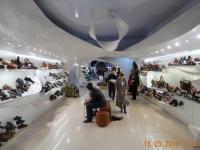 Auch die Schuhgeschäfte sind super modern