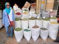 Gewürzauswahl im Bazar_Freude bei Jutta
