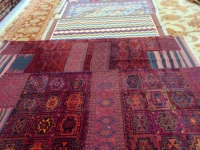 Shiraz Teppichvorführung