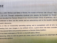 Beschreibung des Dichters Hafis
