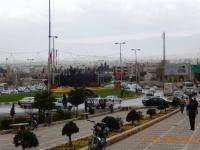 Blick auf Shiraz