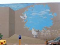 Kunst an Gebäuden ist sehr beliebt im Iran