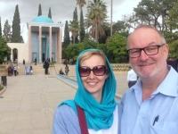 Mausoleum vom Dichter Saadi mit wunderschönem Garten