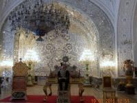 2016 03 10 Teheran Golestan Palast links der berühmte Pfauenthron