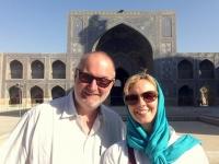 2016 03 12 Isfahan Jame Freitagsmoschee im Innenhof_Unesco