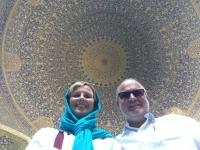 2016 03 12 Isfahan Jame Freitagsmoschee mit größter Kuppel_Unesco