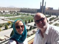 2016 03 12 Isfahan Königsplatz_größter geschlossener Platz der Welt von oben