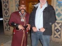 2016 03 13 Yazd Empfang im Hotel Garden Moshir für Gerald