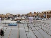2016 03 14 Yazd Platz Amir Chakmak von oben als Panorama