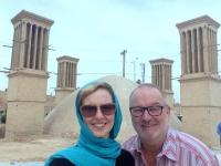 2016 03 14 Yazd Wasserreservoire mit 4 Windtürme