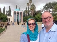 2016 03 15 Shiraz Mausoleum vom Dichter Saadi mit wunderschönem Garten 3