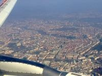 2016 03 17 Heimflug mit wunderschöner Sicht über Wien