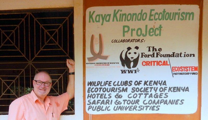 2016 02 14 Kenia Kayas Heilige Wälder in Mijikenda UNESCO Tafel
