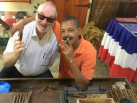 2017 03 16 Dom Rep Ausflug Samana Zigarrenproduktion