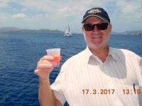 2017 03 17 Tortola Schifffahrt mit Schiff Seebreeze