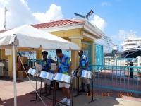 2017 03 18 St Maarten Empfang im Hafen