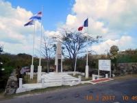 2017 03 18 St Maarten Grenze französicher und niederländischer Teil