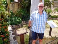 2017 03 19 Antigua Nelsons Dockyard_Königliche Palme von Queen Elisabeth