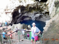 2017 03 21 Santo Domingo Nationalpark Höhlen der 3 Augen Höhlensee