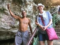 2017 03 21 Santo Domingo Nationalpark Höhlen der 3 Augen Klippenspringer