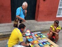 2017 03 23 Cartagena Altstadt imposanter Strassenmaler