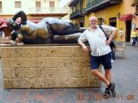 2017 03 23 Cartagena Altstadt moderne Kunst