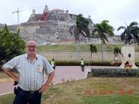 2017 03 23 Cartagena Beginn bei der Festung San Philipi