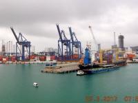2017 03 23 Cartagena Kolumbien Hafeneinfahrt 1
