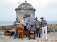 2017 03 23 Cartagena Stadtmauer Tanzvorführung