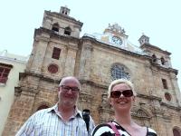 2017 03 23 Cartagena vor der Kathedrale