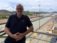 2017 03 24 Panama Panamakanal Schleusen Miraflores Einfahrt